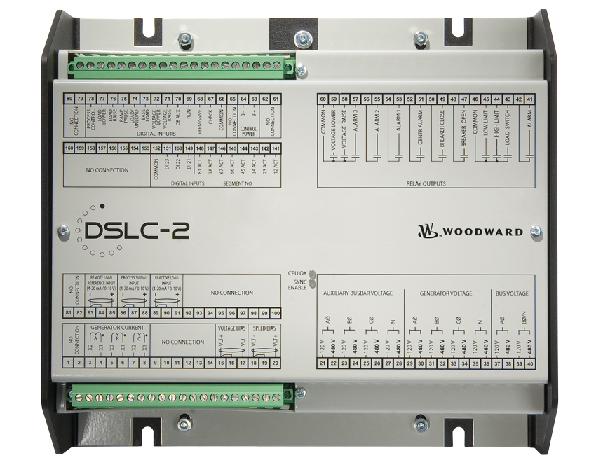 Power Management DSLC-2 Front Panel