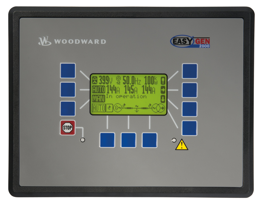 Power Management easYgen Series easYgen2000 Front Panel