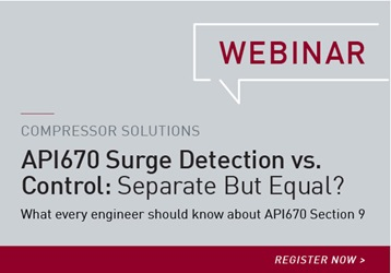 API670 SURGE DETECTION: SEPARATE BUT EQUAL WEBINAR