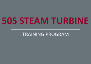 505 Steam Turbine Training Programs