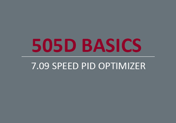 Speed PID Optimizer